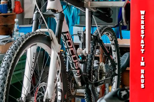 Zweirad-Jung-Reparatur-Werkstatt